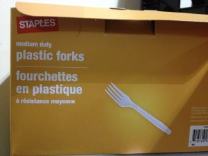 Medium Duty Plastic Forks